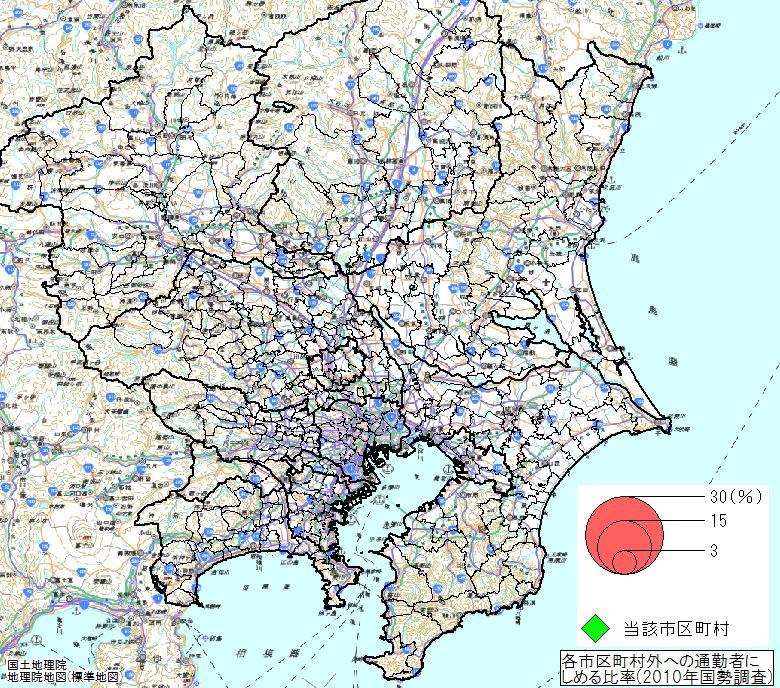 関東 地図